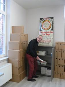 Gilbert in actie archiefHKM