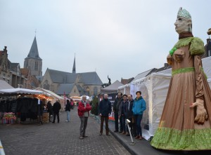 Freya op Kerstmarkt Moorslede 2016